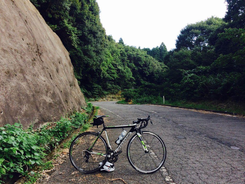 和歌山県海南市の黒沢牧場へロードバイクで向かう
