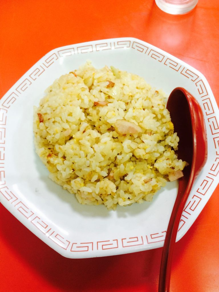和歌山県高野山のミッチー中華飯店の焼飯
